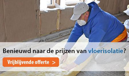 Vloerisolatie offerte Drenthe
